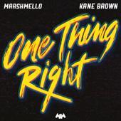 singolo Marshmello & Kane Brown One Thing Right