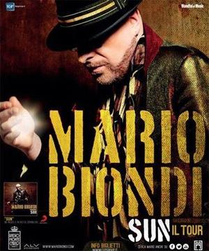MARIO BIONDI 24 NOVEMBRE E GIA SOLD OUT ALLAUDITORIUM DI ROMA