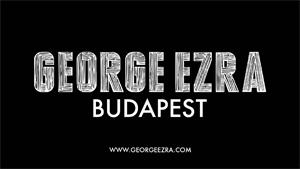 GEORGE EZRA in radio con  BUDAPEST