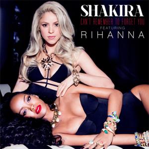 SHKIRA, da oggi 14 gennaio in vendita digitale il singolo Can't Remember To Forget You  feat. Rihanna