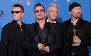 U2, registrano per (RED) il nuovo brano INVISIBLE