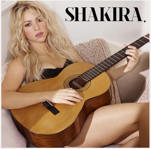 SHAKIRA domani 25 marzo esce lomonimo album