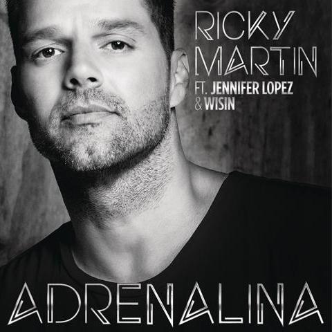 RICKY MARTIN FEAT. JENNIFER LOPEZ & WISIN da oggi in radio con ADRENALINA (SPANGLISH VERSION)