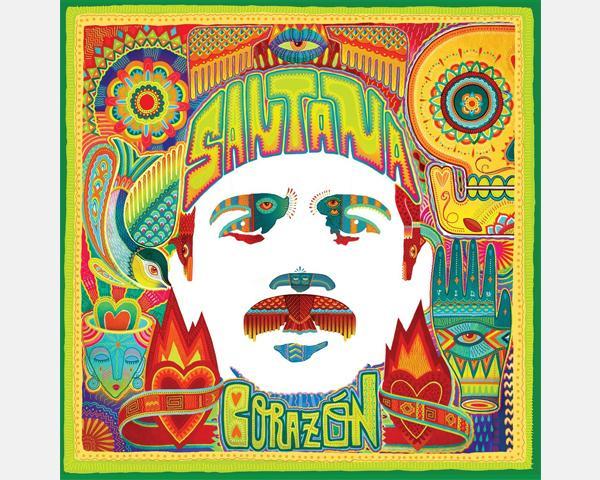 CARLOS SANTANA, oggi 6 maggio pubblica il nuovo album CORAZÓN
