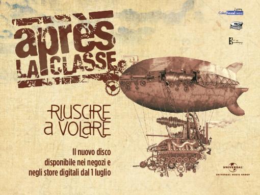 Apres La Classe , radio edit 27 giugno con il singolo QUESTA VITA