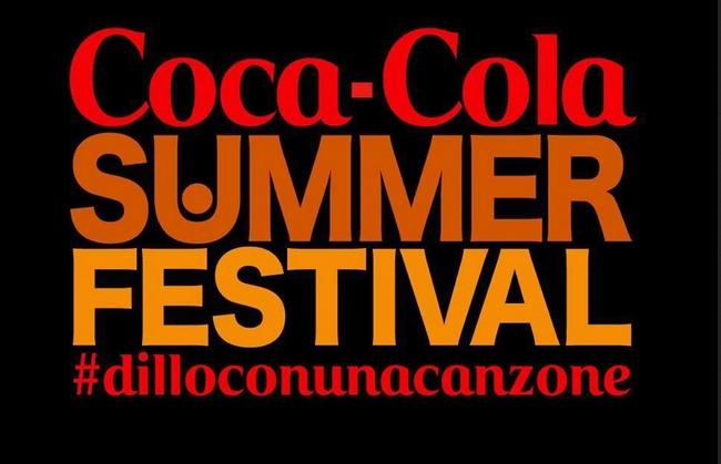 COCA-COLA SUMMER FESTIVAL poche ore allinizio