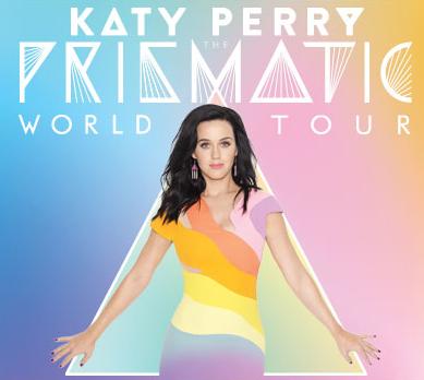 Katy Perry arriva in Italia, da oggi i biglietti in prevendita