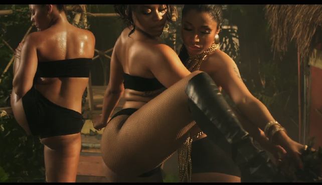 NICKI MINAJ, ora online il nuovo sexy video ANACONDA
