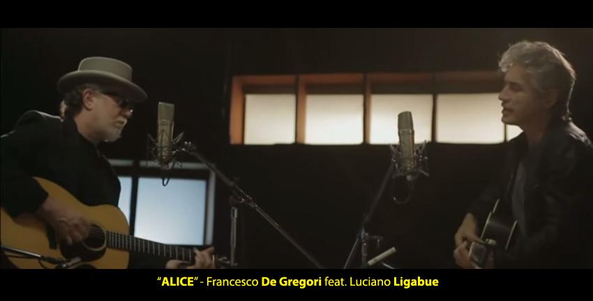 FRANCESCO DE GREGORI FEAT. LUCIANO LIGABUE in radio con il singolo ALICE