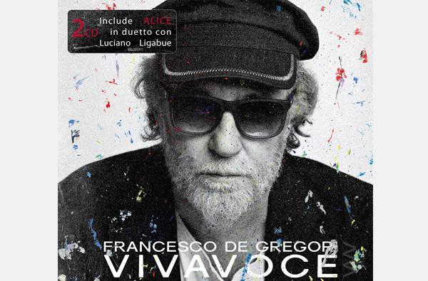 FRANCESCO DE GREGORI in pre-order lalbum VIVAVOCE