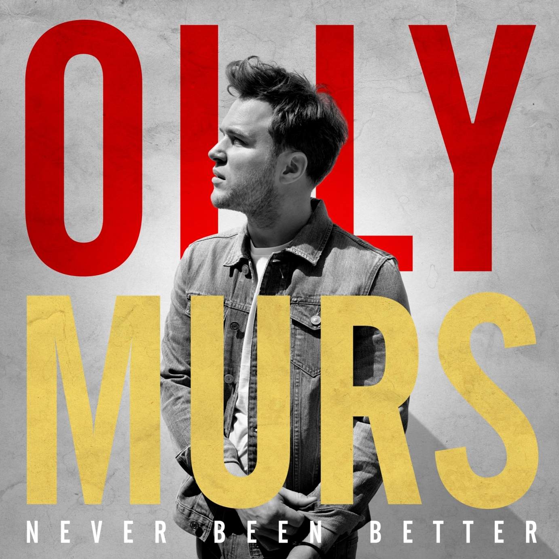 OLLY MURS pubblica oggi 25 novembre il nuovo album NEVER BEEN BETTER