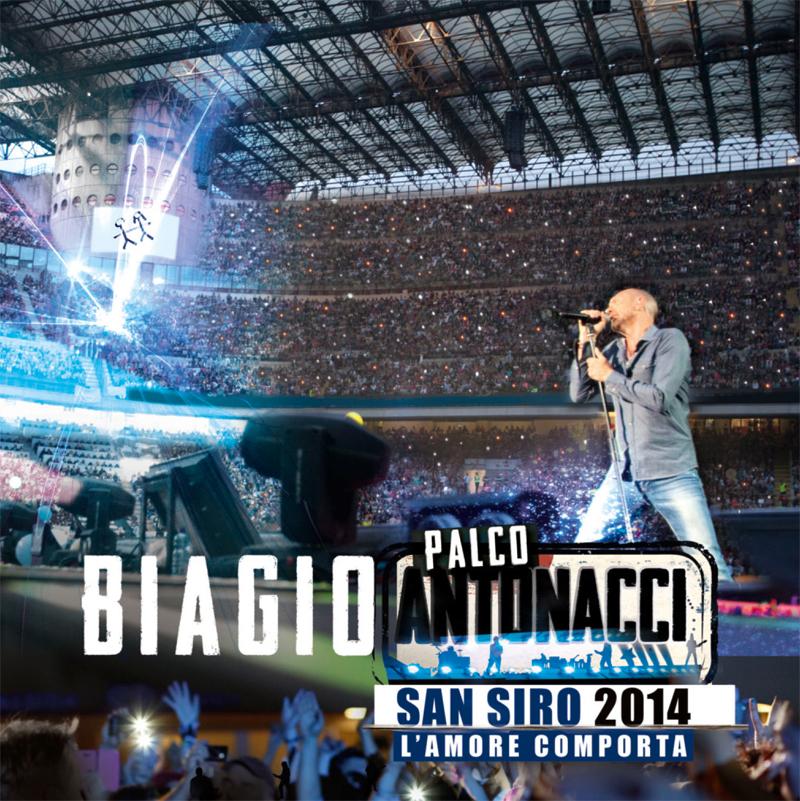 BIAGIO ANTONACCI: CD+DVD PALCO ANTONACCI - SAN SIRO 2014 oggi 17 novembre in tutti i negozi