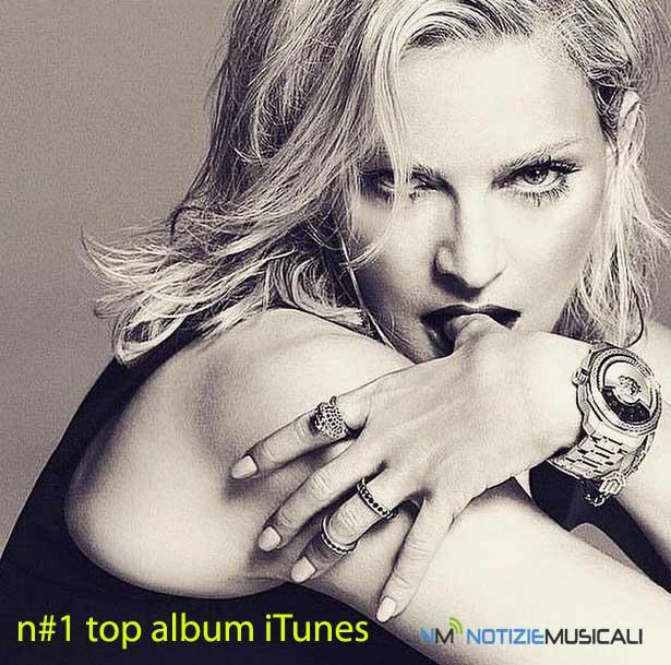 MADONNA, rubano i nuovi brani e lei va al 1° posto della classifica iTunes