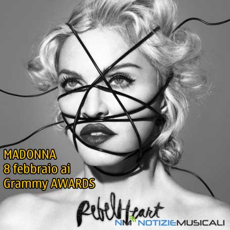 MADONNA ai GRAMMY AWARDS con LIVING FOR LOVE