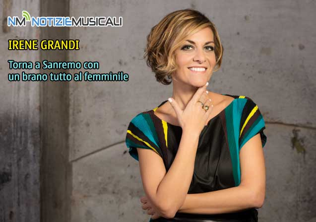 IRENE GRANDI, il nuovo album UN VENTO SENZA NOME