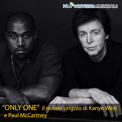KANYE WEST pubblica linedito ONLY ONE