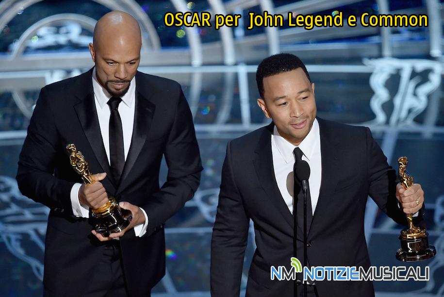 OSCAR 2015: premiati John Legend e Common