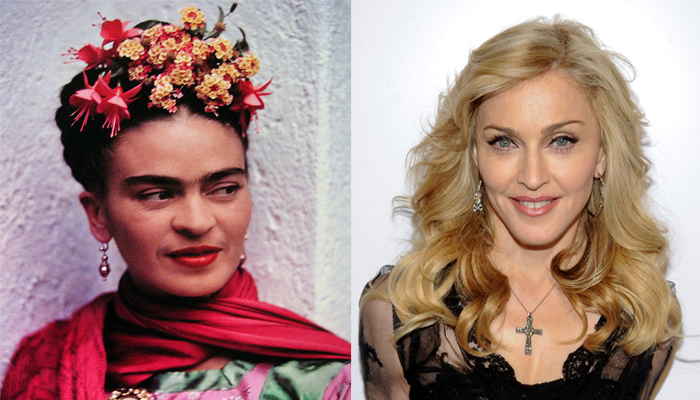 MADONNA , cuore ribelle come Frida Kalho