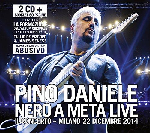 PINO DANIELE NERO A META LIVE in uscita il 9 giugno