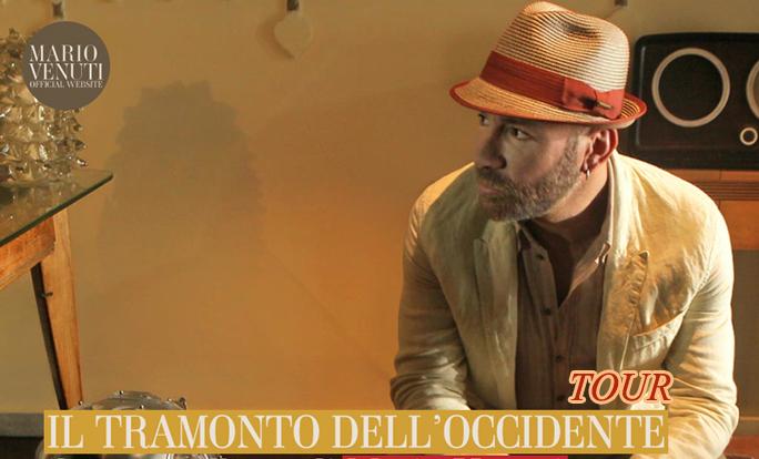 MARIO VENUTI prima tappa de IL TRAMONTO DELL'OCCIDENTE IN TOUR a Roma