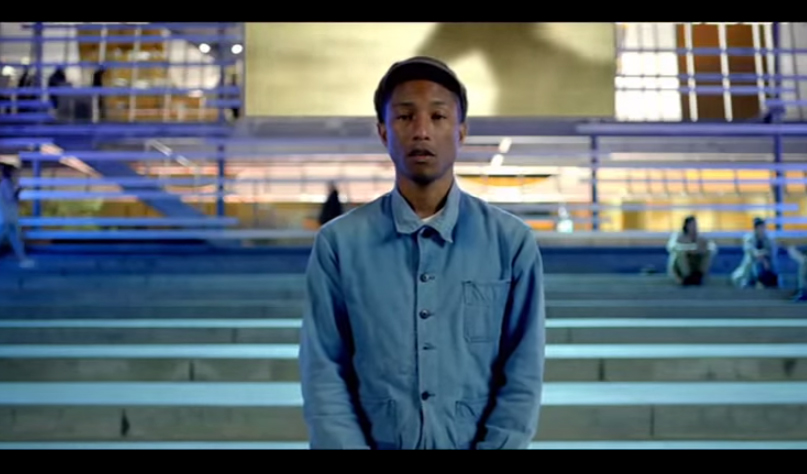 PHARRELL WILLIAMS su Apple Music iTunes e in radio con Freedom