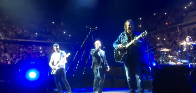 U2 E ZUCCHERO insieme sullo stesso palco a Torino