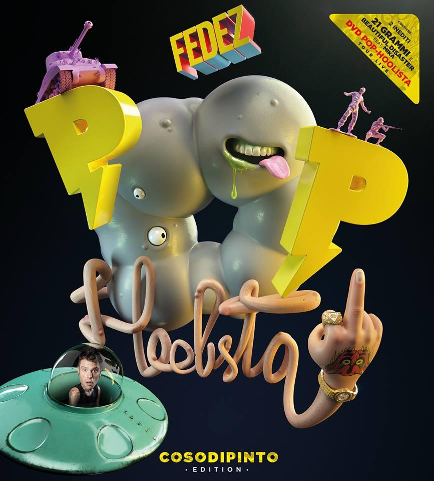 FEDEZ POP-HOOLISTA COSODIPINTO EDITION negli store dal 9 ottobre