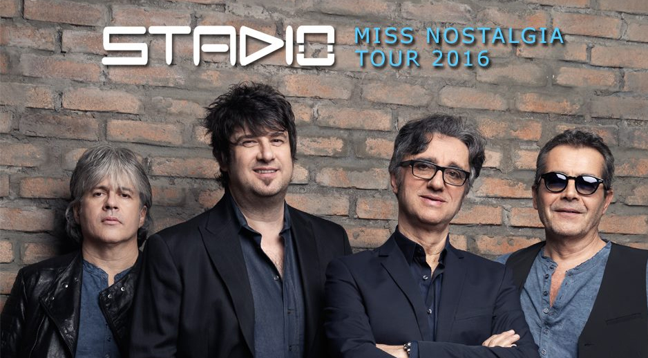 STADIO Miss Nostalgia Tour nei teatri dal 10 marzo