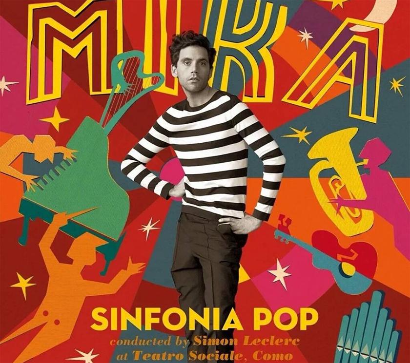 MIKA esce il 27 maggio SINFONIA POP