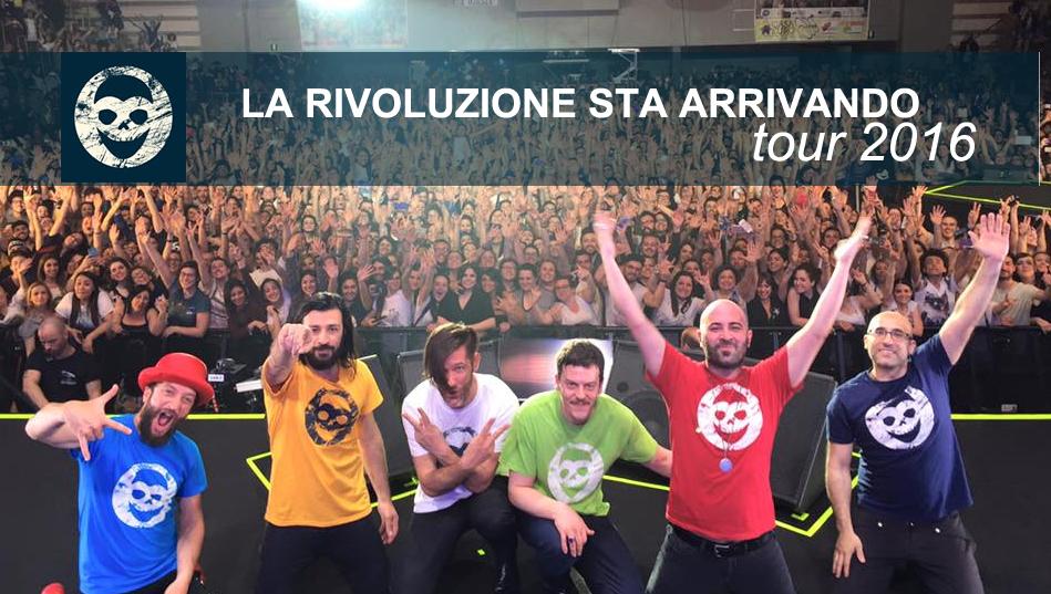 NEGRAMARO soldout e nuove date per LA RIVOLUZIONE STA ARRIVANDO tour