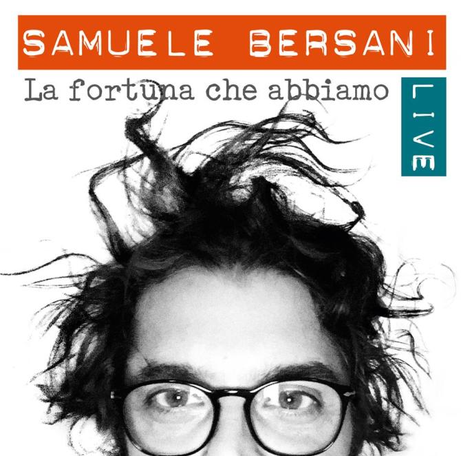 SAMUELE BERSANI un nuovo album live in uscita il 3 giugno