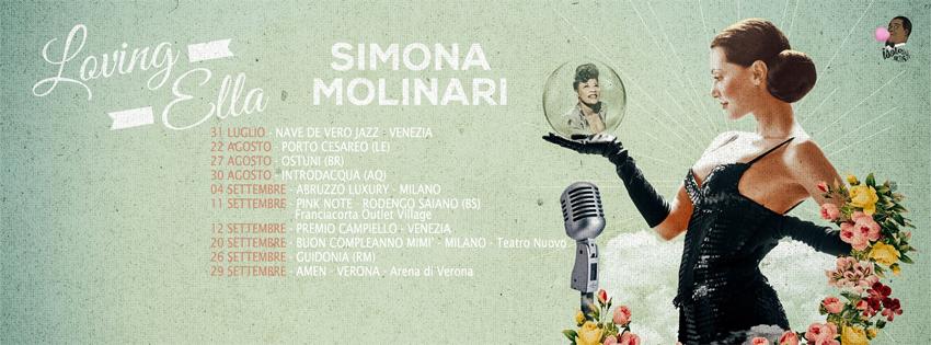 SIMONA MOLINARI in  LOVE ELLA