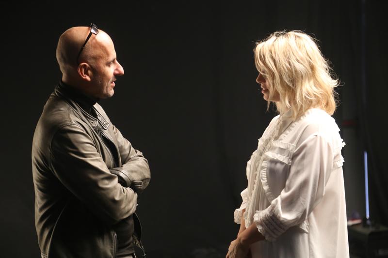 EMMA MARRONE le immagini del backstage del video Quando le canzoni finiranno