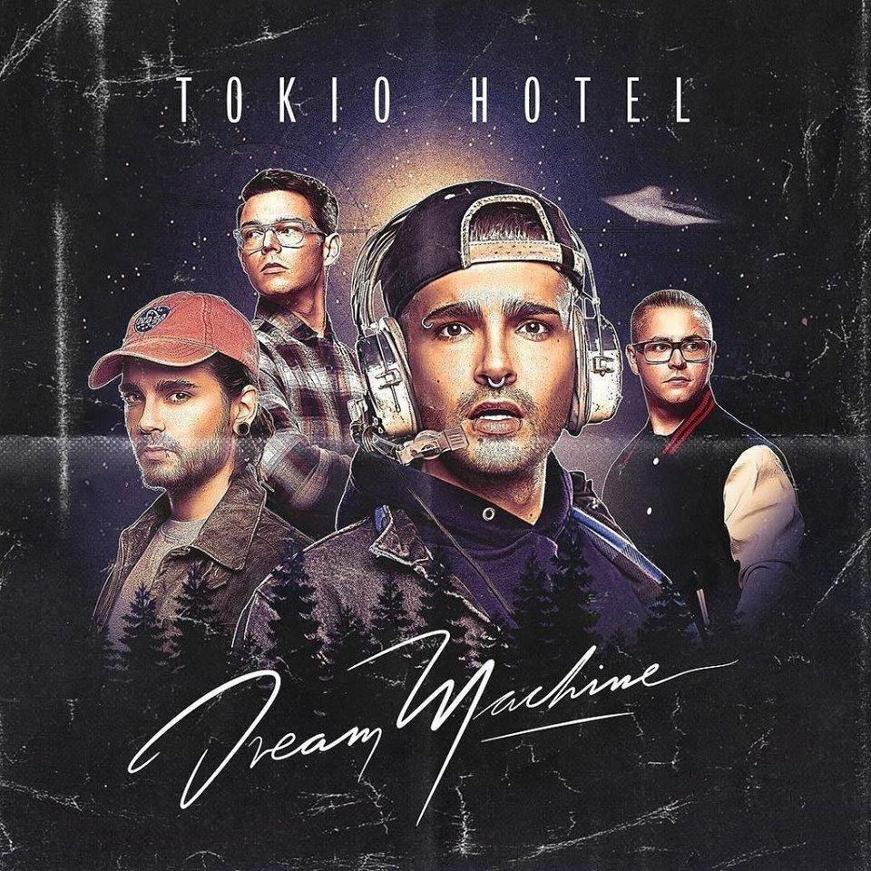 TOKIO HOTEL in uscita il 3 marzo il nuovo album DREAM MACHINE