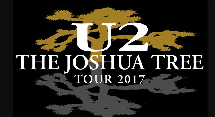 U2: THE JOSHUA TREE TOUR 2017 - 15 e 16 luglio ROMA