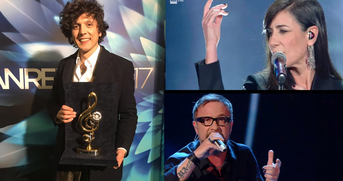Sanremo2017 i risultati della terza serata