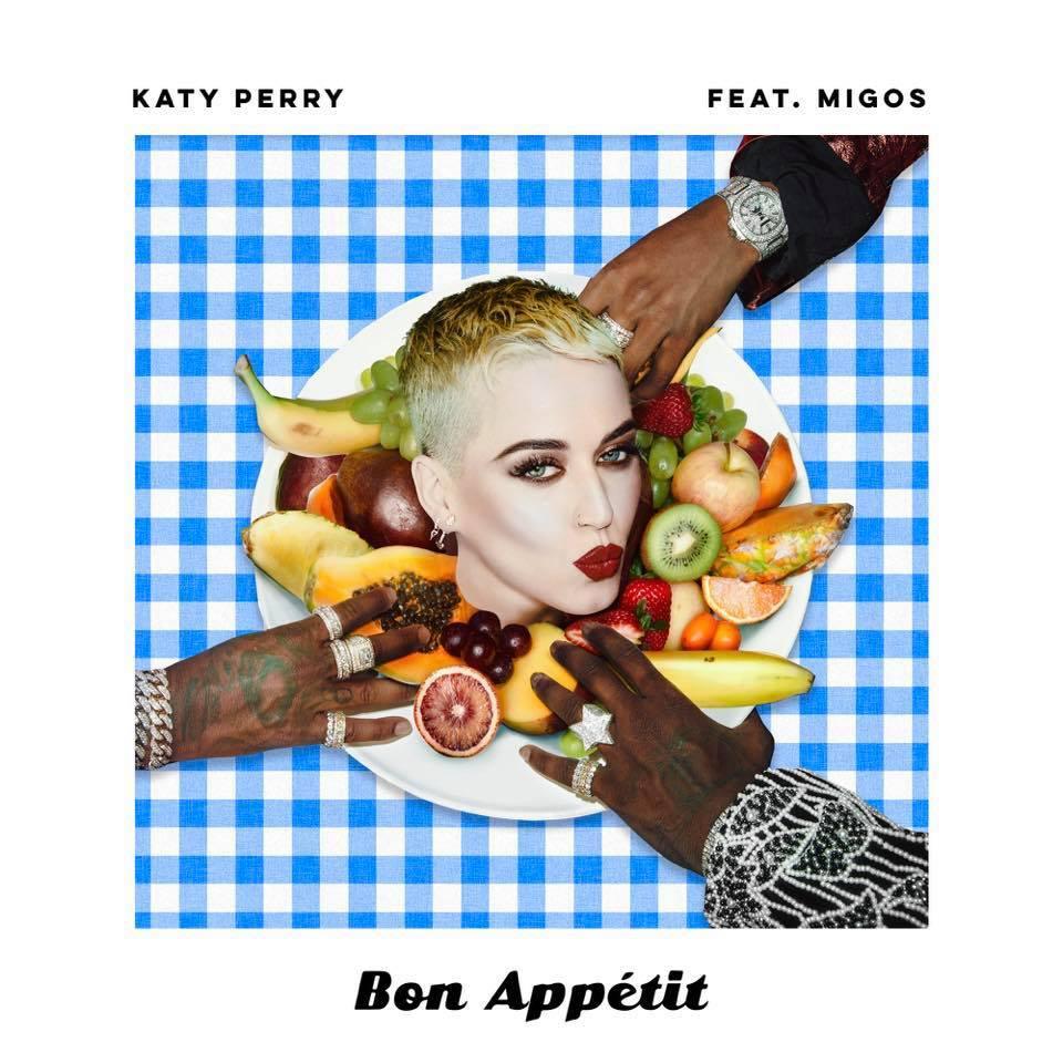 foto KATY PERRY arriva il nuovo singolo BON APPÉTIT feat. MIGOS