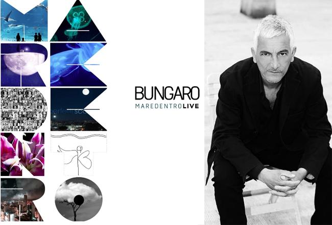 BUNGARO festeggia 25 anni di carriera con MAREDENTRO LIVE
