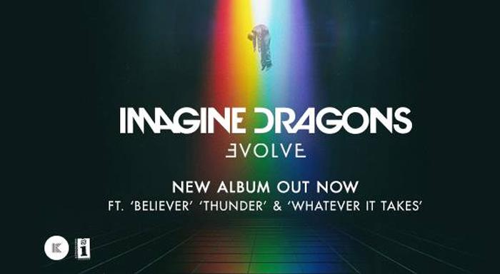IMAGINE DRAGONS un successo il nuovo album EVOLVE