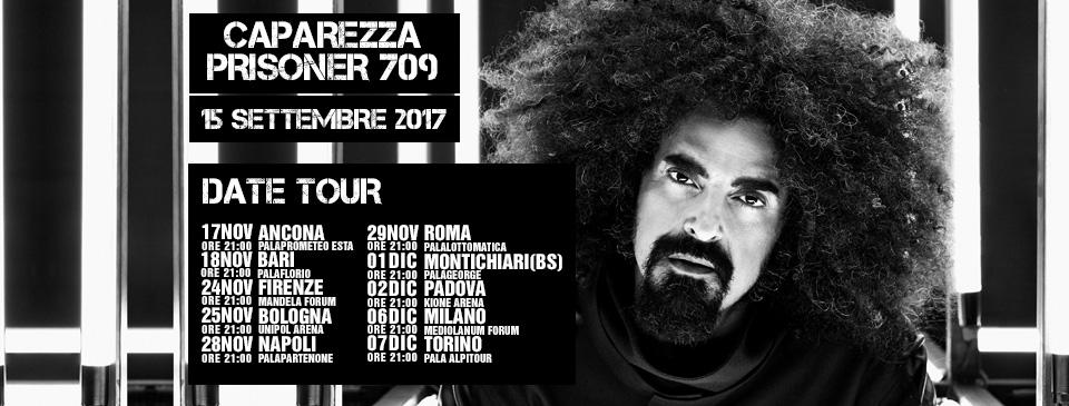 CAPAREZZA arriva la tracklist del nuovo album PRISONER 709