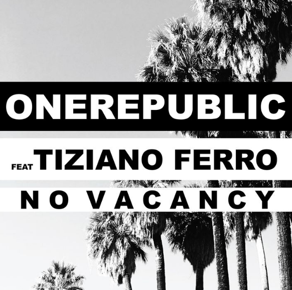 foto ONEREPUBLIC e TIZIANO FERRO in radio con NO VACANCY