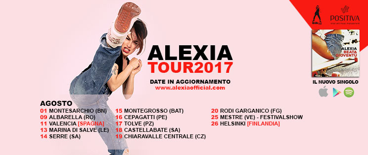 foto ALEXIA in arrivo il nuovo album