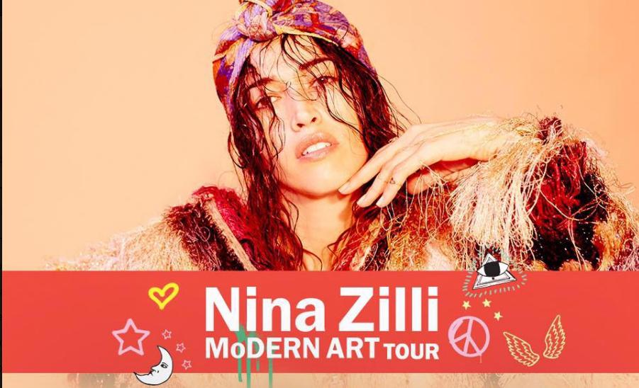 NINA ZILLI il nuovo singolo in radio e le prime tappe del MODERN ART TOUR