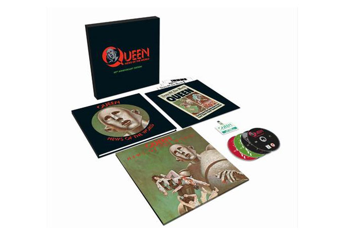 "Queen ""News Of The World"" 40th Anniversary Edition il cofanetto"