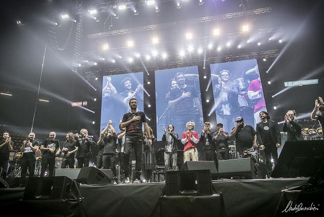 DANIELE SILVESTRI al Mediolanum Forum di Milano un concerto memorabile