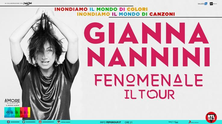 GIANNA NANNINI nuova data a Milano per FENOMENALE TOUR