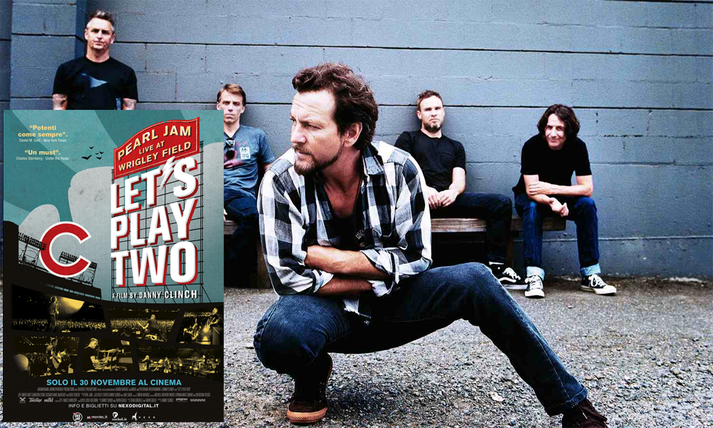 "foto I PEARL JAM PORTANO AL CINEMA  ""LET'S PLAY TWO"""