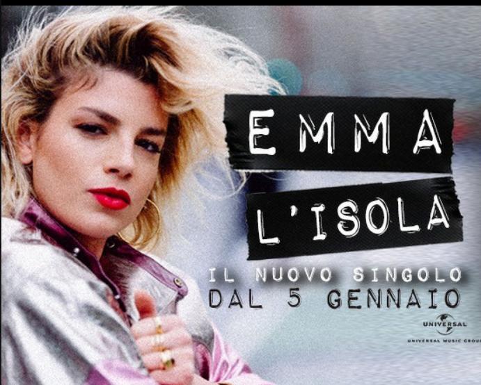 EMMA il nuovo singolo LISOLA è gia nelle radio italiane