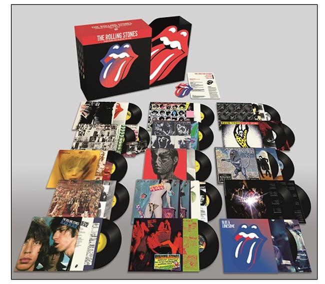 THE ROLLING STONES dal 15 giugno nei negozi THE STUDIO ALBUMS VINYL COLLECTION 1971-2016