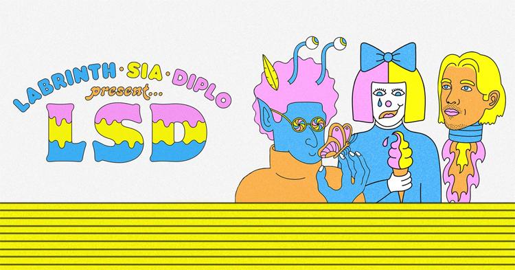 foto LABRINTH SIA DIPLO PRESENT LSD OUT 12 APRILE 2019